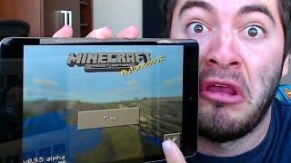 Minecraft Pocket Edition: HOUSE SPEED BUILD CHALLENGE! (MCPE 0.9.0)
