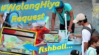 Bumili ng FISHBALL at ilagay sa Aquarium (Prank)   #WalangHiya Request