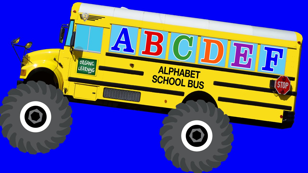 School Bus Monster Truck Toy Monster Truck School Buses