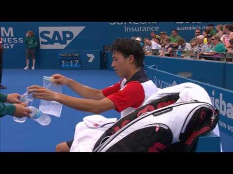 Marin Cilic v Kei Nishikori - Full Match Men's Singles Quarter Finals : Brisbane International 2014