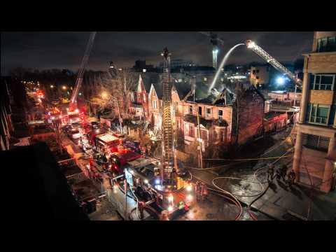 Time-laps Firefighting  4K