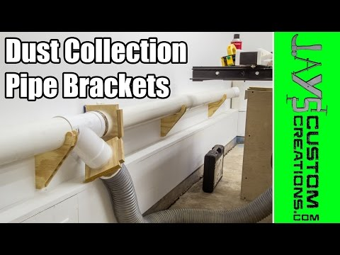 Dust Collection Pipe Bracket Hangers - 158