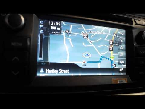 2014 TOYOTA AURIS HYBRID TOUCH & GO PLUS SPEECH COMMAND SATNAV MULTIMEDIA SYSTEM