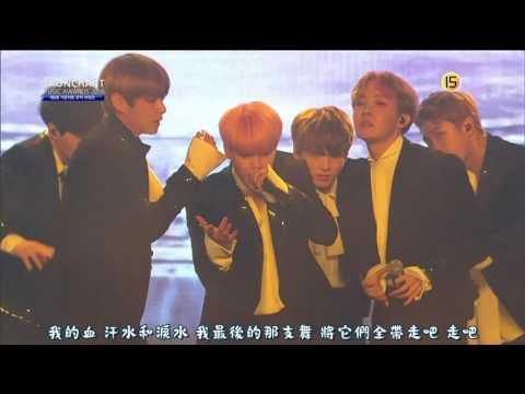 【Live中字】170222 防彈少年團(BTS) - Save ME + Blood sweat & tears @ The 6th GAON CHART K-POP Awards