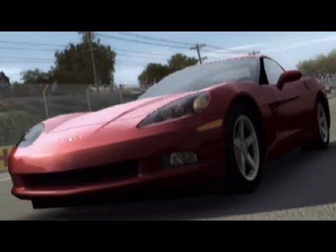 Forza Motorsport 1 - Chevrolet Corvette C6 2005 - Test Drive Gameplay (HD) [1080p60FPS]