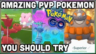 AMAZING POKEMON FOR PVP IN POKEMON GO | LOW ENERGY COST CHARGE MOVES