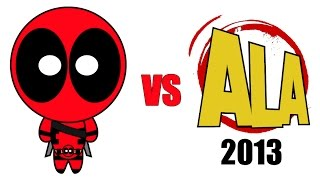 Deadpool vs Anime Los Angeles 2013