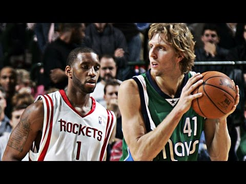 Dirk Nowitzki VS Tracy McGrady HD | Dirk 53 Points, T-Mac 48 | 12.02.04