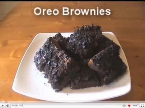 Oreo Brownies – Video Recipe