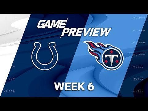 Indianapolis Colts vs. Tennessee Titans | Week 6 Game Preview | NFL