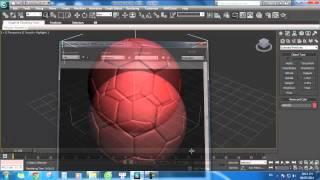 Thực hành sử dụng 3Ds Max : Dựng hình quả bóng đá