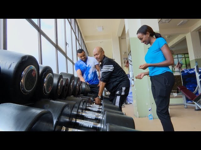 Sunday With EBS Asfaw And Rakeb In A Gym