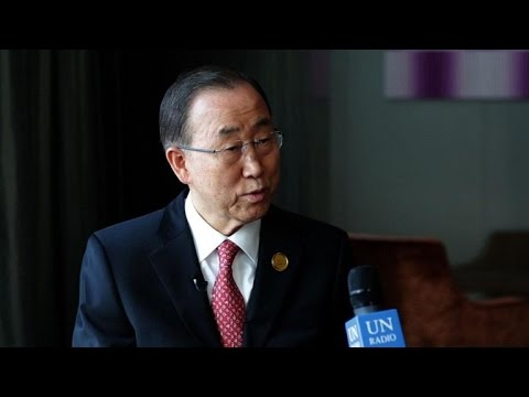 UN chief: 'Very limited window' to realise climate change goals