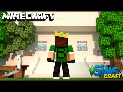 The Sims Craft EP.53 - A Casa do Rei !!