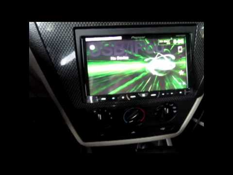Pioneer AVH-X4500BT Review/Test With iPhone 5 (Axxess ASWC 1& Microbypass Parking brake hack)