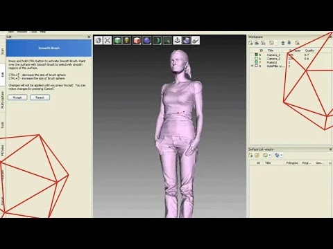 Full body scan with Artec 3D scanner