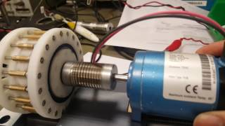 3000 RPM test! 3D printed Cycloidal Reducer 1:19