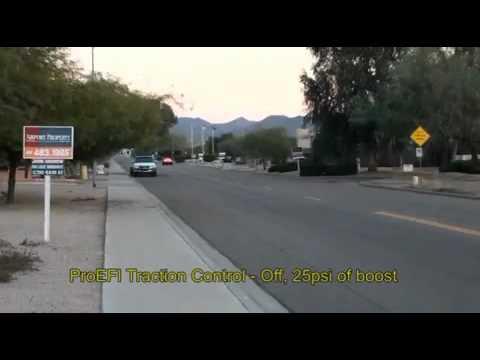 Auto Racing Traction Control on Saad Racing Supra Proefi Traction Control Demo