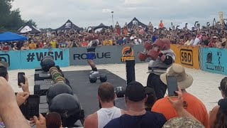 HAFTHOR THE MOUNTAIN JULIUS BJORNSSON vs BRIAN SHAW PRESSMEDLEY - WSM 2019 FINALS