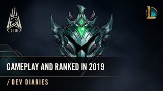 Ranked, Normal, and Rotating Gameplay in Season 2019 | /dev diary - League of Legends