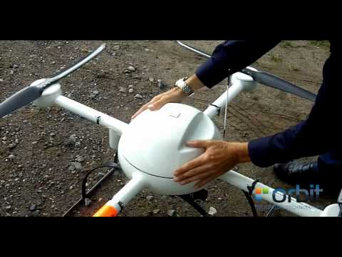Microdrones MD4-1000 behind the scenes (real live footage- not stabilized by software)