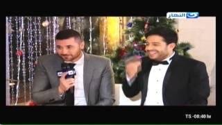 محمد حماقى و أحمد عز فى أحلى النجوم