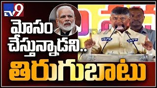 TDP strategy worked for BJP failure in three States - Chandrababu -  TV9