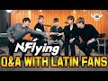 N.Flying in a Q&A with Latin Fans!