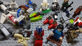 LEGO STAR WARS ADVENT CALENDAR 2013 All 24 items Stop Motion