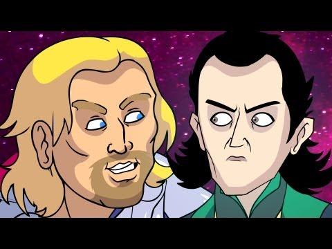 Thor n, Loki (Marvel Parody) - Oney Cartoons