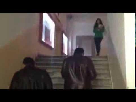 İstanbul Üniversitesi'nde Kolektif'e yakalanan sivil polisin telaşı