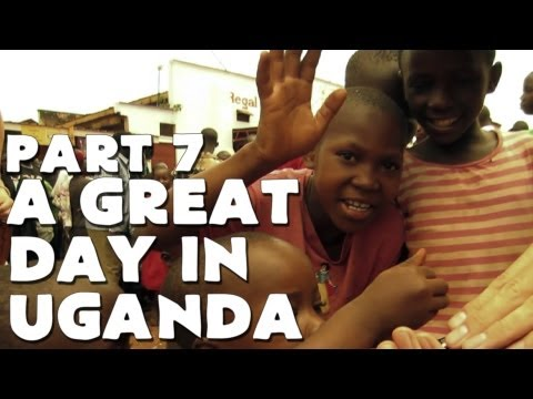 A GREAT DAY IN UGANDA