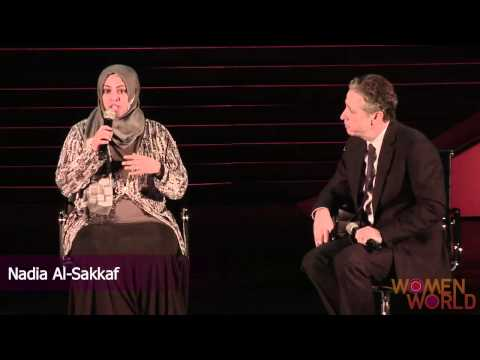 World on Fire: Jon Stewart Talks to Women From The Arab Spring