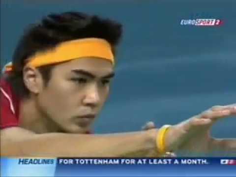 Sepaktakraw Doha Final Match Thailand - Malaysia Takraw video
