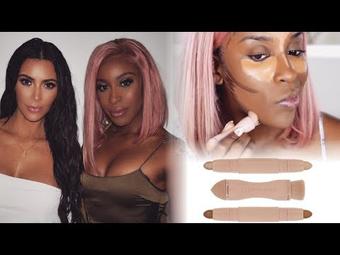 KKW Beauty?! Watch This Review First!   Jackie Aina