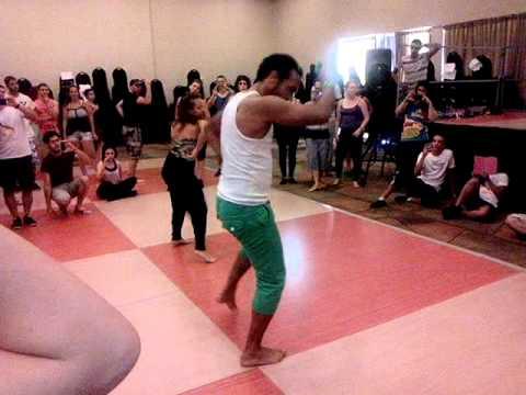 Israeli salsa congress 2014 - Guaguanco  Osbanis & Annetta