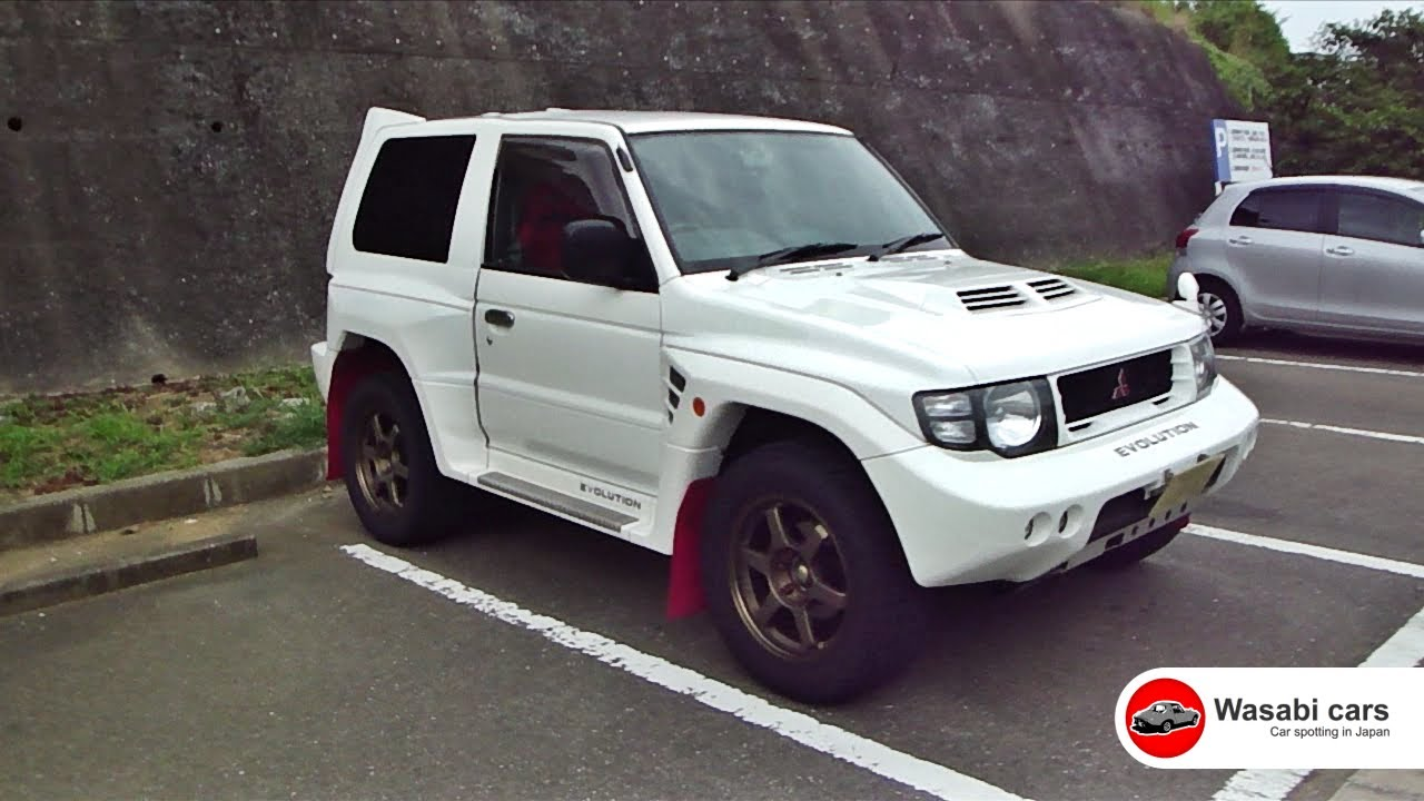 Spotted: A *Bad-ass* Mitsubishi Pajero/Montero Evolution - A rare rally homologation special ...