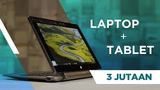 REVIEW ACER SWITCH ONE 10 LAPTOP HYBRID CUMA 3 JUTAAN - INDONESIA
