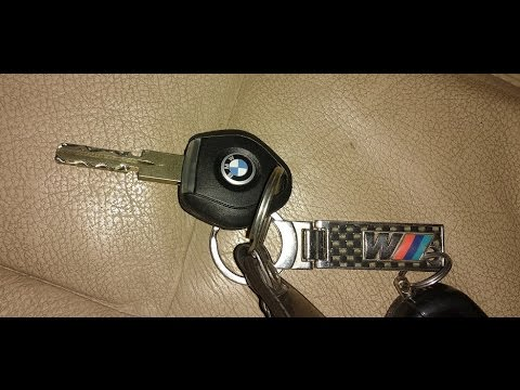 BMW E 39. Как заменить чип в ключе   / BMW E 39. How to replace the chip in the key