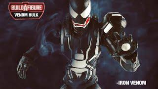 "Venomverse Ironman Custom Marvel Legends Spider-Man 6"" action figure review"