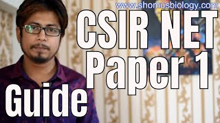 CSIR NET paper 1 guide | Should you prepare Group A in CSIR NET exam ?