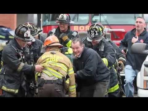 Firefighers Mourn Loss of Fellow Fighters in Boston Fire