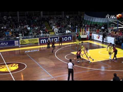 La Estancia vs Do Recife Final Liga Sudamericana de Baloncesto Rama Femenina Ecuador 2014