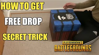 How To Get Real Airdrop Pubg Mobile ! Pubg Mobile Secret Tricks