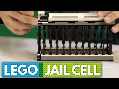 Build A LEGO Jail Cell For Your Phone | BRICK X BRICK