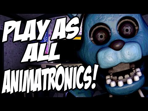 Five Nights at Candys 2 SIMULATOR: Part 1 - PLAY AS CHESTER AND ALL NEW ANIMATRONICS!