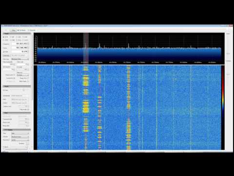 Coastguard Radio with RTL SDR (RTL2832) and SDR Sharp