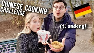Cooking CHINESE food with GERMAN supermarket ingredients