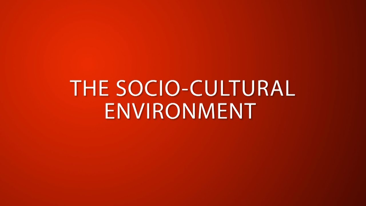socio cultural environment in malaysia Pest analysis for airline industry highlights 4 important latest technology must be adapted by airliners in order to survive in the already tough environment.