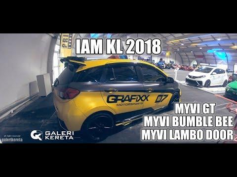 Myvi Lagi Syantik (Myvi GT, Myvi Bumble Bee, Myvi Pintu Lambo) di IAM 2018